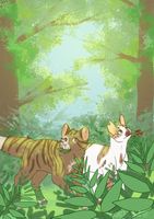 Collecting Herbs by Suntail812