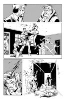Fantomex MAX, Issue 1, page 17 by Inkpulp