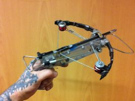 homemade full working crossbow by supersohle