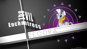Zecora Typography Wallpaper by LuGiAdriel14