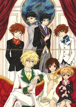 Ouran Koukou Host Club by SolemnWishes