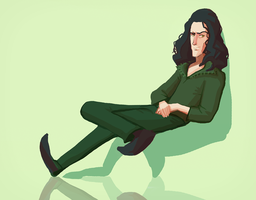 Scruffy Loki by Art-Calavera