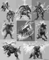 Coterus Sketches by andyparkart