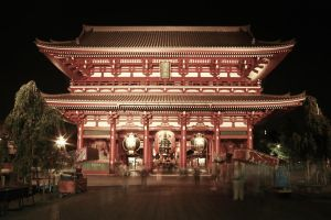 Senso-ji, Night Activities I by carlos170691