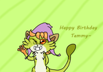 Happy Birthday Tammy by LuckyZorua