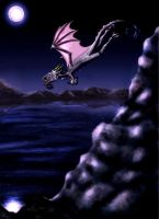 Cliff Diving - Dragon Style by Mazdi