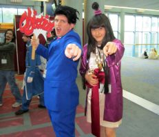 Fanime'12: Ace Attorney by theEmperorofShadows