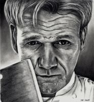 Gordon Ramsey by Doctor-Pencil