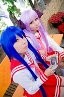 Playing Lucky Star::::::: by Witchiko