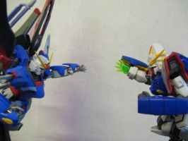 Shining vs destiny -2 by Gundam-MK2