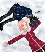 Snow -n- you - Color by annakire
