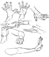 Hand Practice 2 by Cutiekitty01