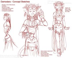 Character Concept - Damodara by soulspoison