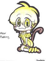 Mew Pudding by Pikausul