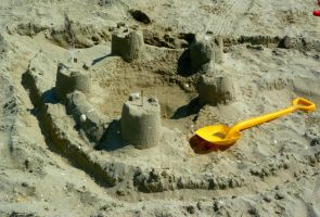 castle made of sand #2 by st2wok