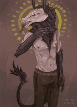 Entitled-god by Goji-Catquoll
