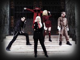 Team Hellsing by Wallyconequis