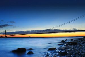 The Humber Bridge by SD-13