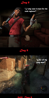TF2: Scout's Vacation on Dead Island 3 by DeathsFugitive