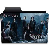 The Vampire Diaries and The Originals Folder by giilpereiraa