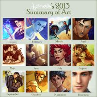 Lostie815's 2013 Art Summary by lostie815