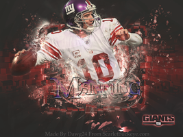 Eli Manning Wallpaper by Kdawg24
