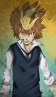 KHR: Tsuna by Squidypus