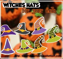 Witched Hats for you dolls*- by SandraTutoriales