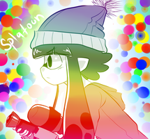 Splatoon Hype by cyandreamer