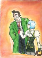 Franzy and Gumshoe by LlovesHalo