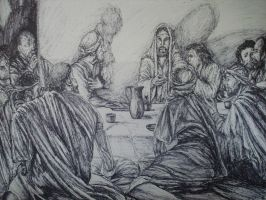 the last supper by artkid01