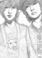 SHINee : ONTAE : Onew and TaeMin by ocecen