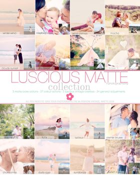 Luscious Matte Photoshop Action by Lady-Tori