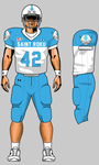 SRU Sky Bison Football Uniform by RiotJamie