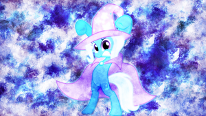 The Magic of Trixie Wallpaper by EnemyD