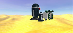 P2 Unit With R2s And S19s Side View by mafia279