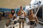 Jean, Marco and Mikasa - Attack on Titan Cosplay 2 by alagon1
