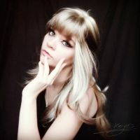 Blonde Wig by Bellastanyer