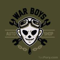 War Boys Auto Shop by Winter-artwork