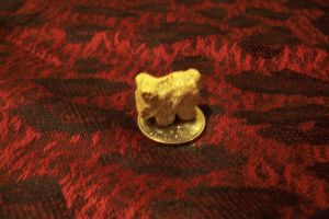 Tiny Soapstone Horse Carving 1 by shadechristiwolven