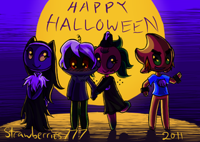Happy Halloween 2011 by Crysenley