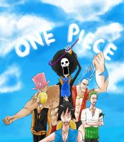 ONE PIECE: Minus 3 by l3reezer