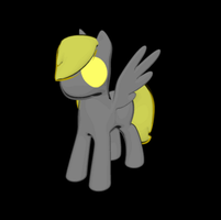Very Simple Pegasus Model by AnScathMarcach