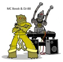 MC Bossk and DJ88 by JoelRCarroll