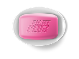 Bar of Fight Club Soap by MrAngryDog