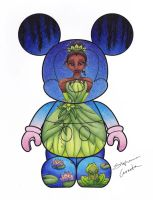 Princess and the Frog Vinylmation Design by StephanieCassataArt