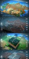 #2RISE TRANSNEFT INTERACTIVE MAP by hoepfle