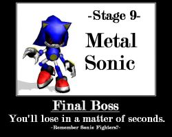 Metal Sonic motivation by mitchika2