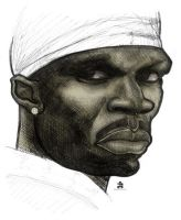 50 cent sketch by fc85746