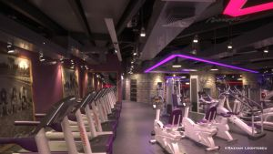 Gym interior by zubagvatic